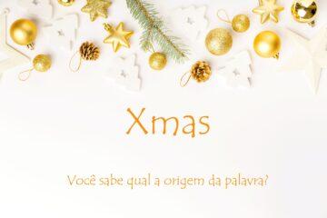A origem da palavra Christmas Merry Christmas